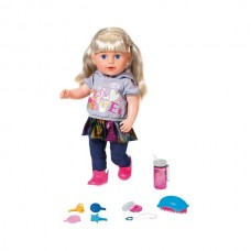 БЕЗКОШТОВНА ДОСТАВКА Кукла Baby Born Нежные объятия Старшая сестричка модница Zapf 824603